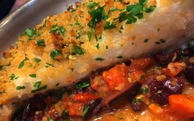 Pan Roasted Chilean Sea Bass Gremolata