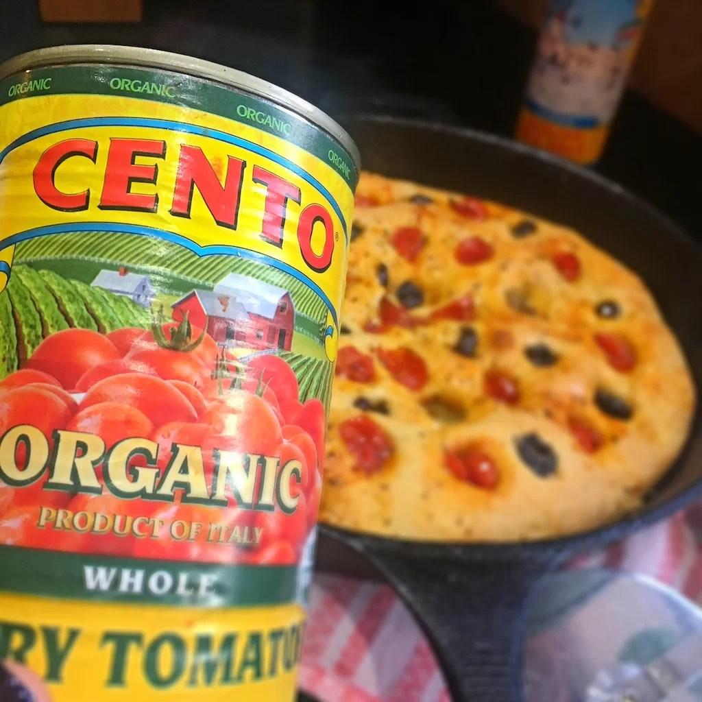 Cento Cherry Tomatoes Focaccia