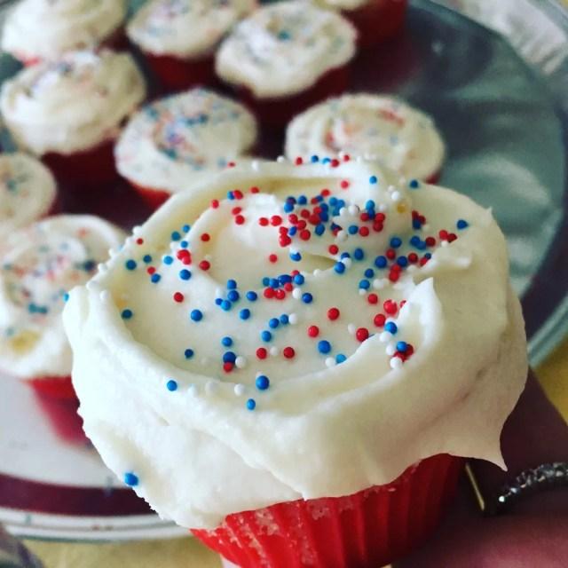 Magnolia Bakery Inspired Vanilla Cupcake