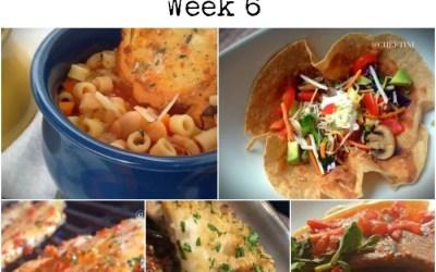 #WhatsForDinner Week 6 – Random Mealtime Menu