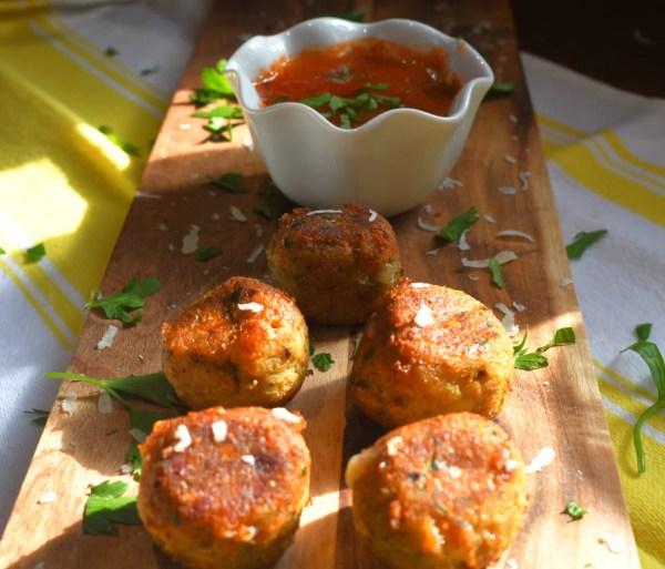 Eggplant Meatballs
