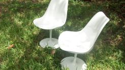 Fabulous restored tulip chairs