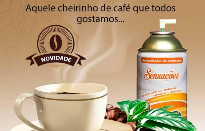 Cafe - Aromatizador de ambiente -