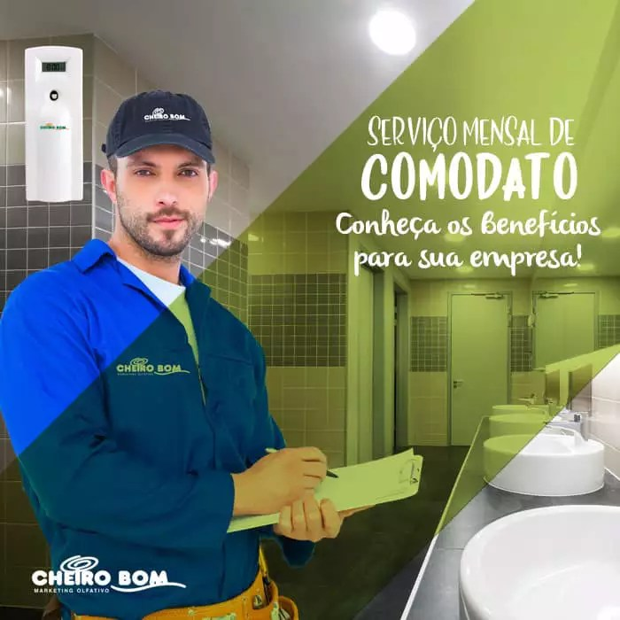 Marketing Olfativo - Comodato