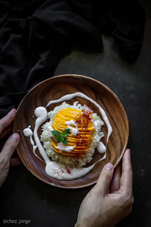 Mango Sticky Rice (Vegan)