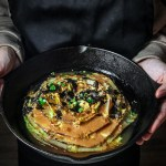 Seared Napa Cabbage with Miso Butter