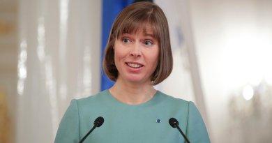 Президент Эстонии пригласила Путина на конгресс финно-угорских народов