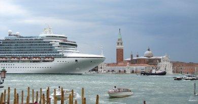 Власти Венеции планируют запретить круизным лайнерам заходить в город