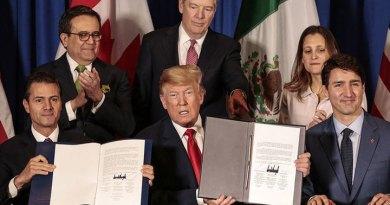 Трамп внес в конгресс дополненную торговую сделку с Мексикой и Канадой