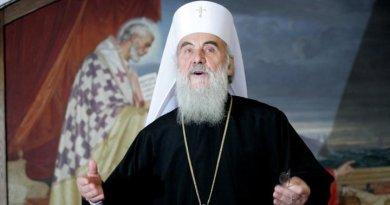 Умер заразившийся коронавирусом сербский патриарх Ириней