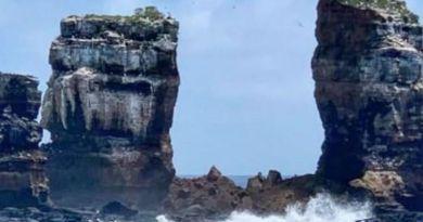 На Галапагосских островах рухнула знаменитая Арка Дарвина
