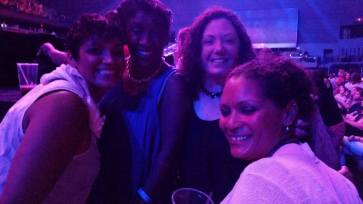 My sisters, my friend, and I© 2015 Michelle Smith