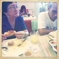 They both order the same thing every time- Overloaded B.
