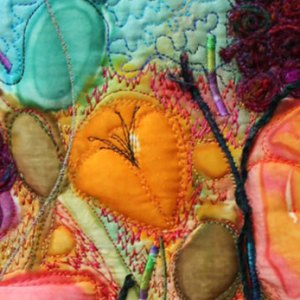 Small Textile Artwork to Frame