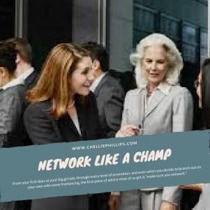 network like a champ