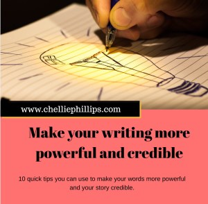 Make your writing more powerful and credible
