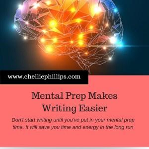 Mental Prep Makes Writing Easier