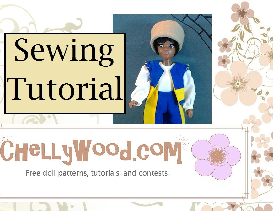 Tutorial for Sewing a Hat that fits 1/6 Scale Dolls (like Barbies, Momoko Dolls, and World of Love Dolls)