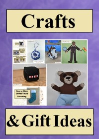 This image represents a few of the sewing projects and no-sew crafts you can make for gifts, for friends, children, co-workers, boys, girls, and more. They include Christmas crafts, plushies, pincushions, paper dolls, pillows, miniatures, tea towels, and other wonderful craft projects. Click on the link provided to search for a sewing project or no-sew crafts that you can make for your home, friends, and/or family. Most projects include free printable sewing patterns.