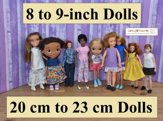 "Please click here for the directory page for free printable sewing patterns to fit 8"" to 9"" (20 cm to 23 cm) dolls: https://wp.me/P1LmCj-Ggm"