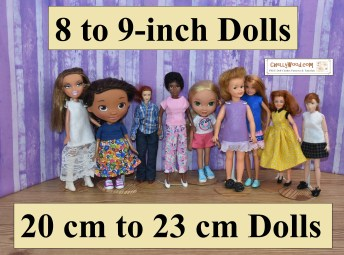 """Please click here for the directory page for free printable sewing patterns to fit 8"""" to 9"""" (20 cm to 23 cm) dolls: https://wp.me/P1LmCj-Ggm"""