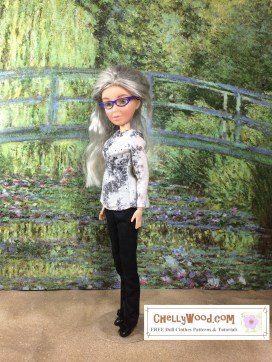 Click here to find all the patterns and tutorials you'll need to make this project: https://chellywood.com/2016/12/06/sew-some-monet-style-dollclothes-w-free-patterns-chellywood-com/
