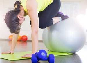 Тренировка с фитболом для похудения – Фитбол для похудения ...