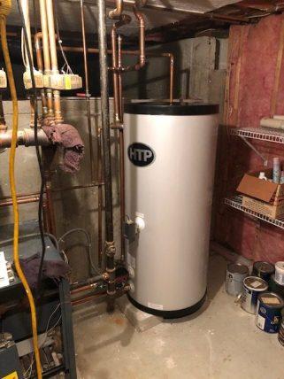 My Dear Watson Leaking Water Heater Replacement