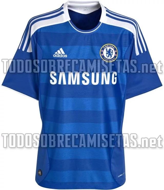 Novas fotos do uniforme 2011 2012 - Chelsea Brasil 3cd6c500b3c6d