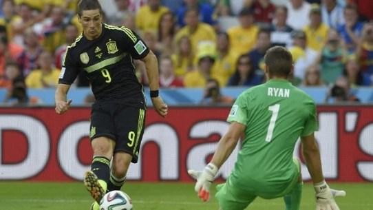 Torres fez o segundo da Fúria (Foto: Getty Images)