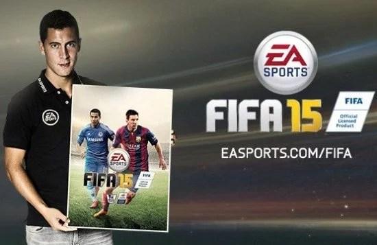 Hazard está na capa do jogo vendido no Reino Unido (Imagem: Site Oficial/EA Sports)
