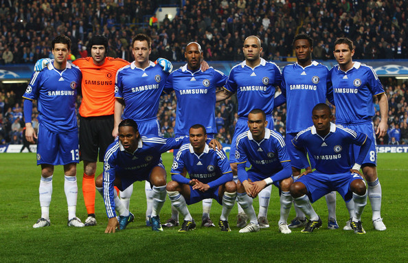Base do Chelsea que fez boa campanha na UCL (Foto: Getty Images)