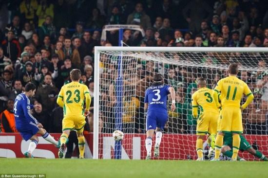Fàbregas marca o primeiro da vitória dos Blues