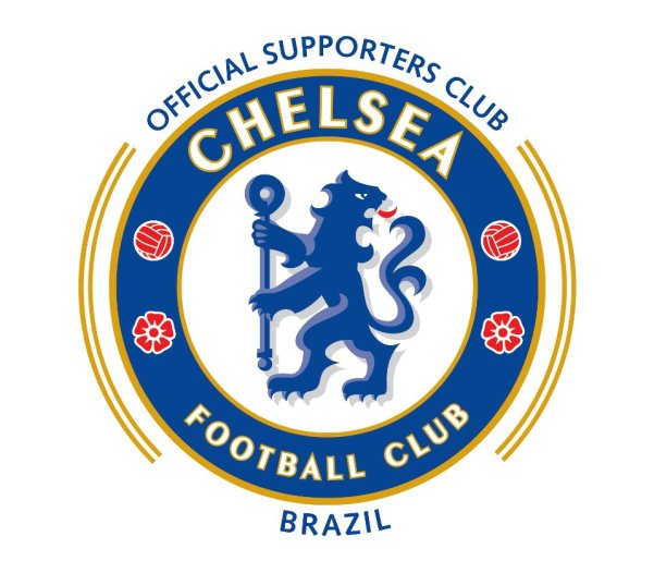 Escudo oficial do Chelsea Brasil, feito pelo Chelsea Football Club