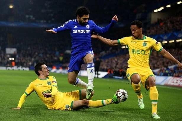 Quando jogava pelo Chelsea, Salah não conseguiu convencer muito (Foto: Getty Images)