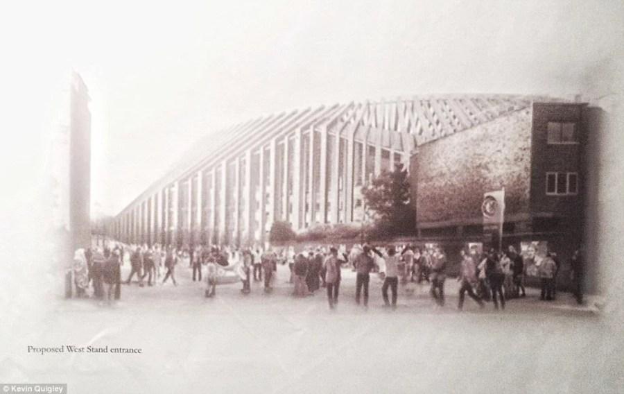 Arquitetura do novo estádio é inspirada na Abadia de Westminster (Imagem: Chelsea FC)