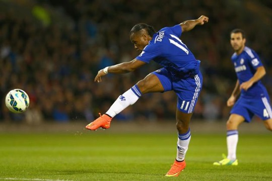 Drogba marcou muitos gols pelo Chelsea (Foto: Getty Images)