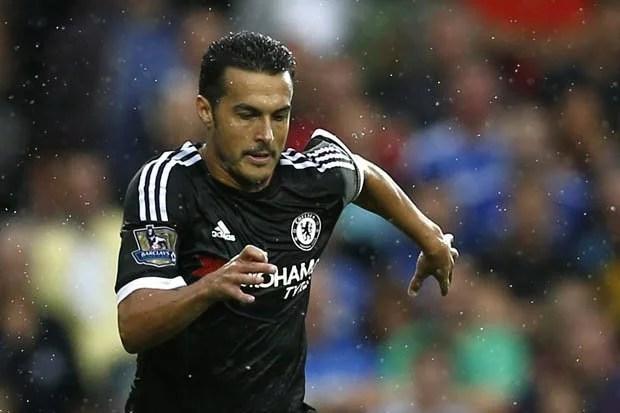 No primeiro jogo de Pedro pelo Chelsea, o espanhol marcou (Foto: Getty Images)