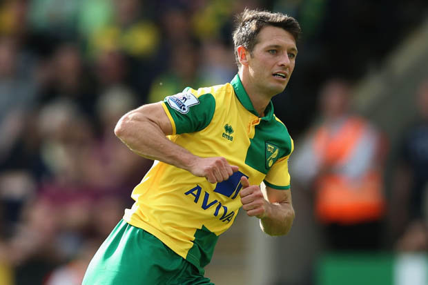 Hoolahan é o grande criador do Norwich (Foto: Getty Images)