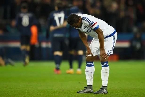 Mikel falhou no gol de Ibrahimovic (Foto: Mike Hewitt)