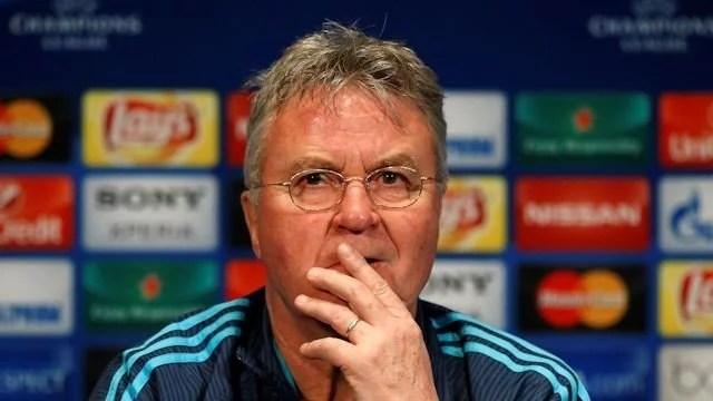 Hiddink disse que Chelsea e PSG têm as mesmas chances (Foto: Chelsea FC)
