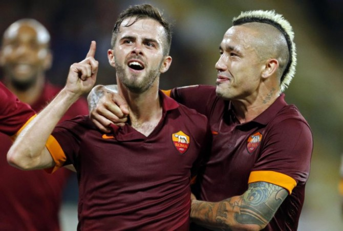 Dupla da Roma estaria na mira do Chelsea (Foto: Getty Images)
