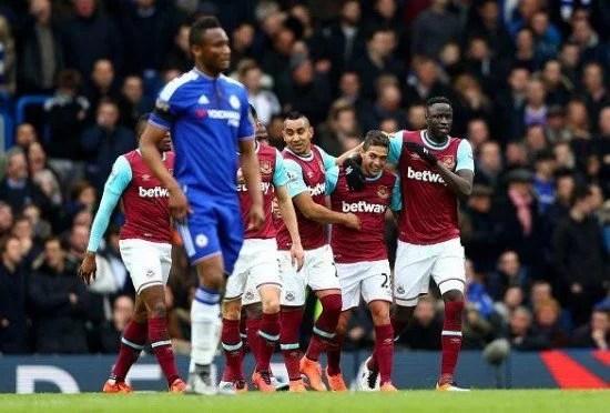 West Ham saiu na frente do placar