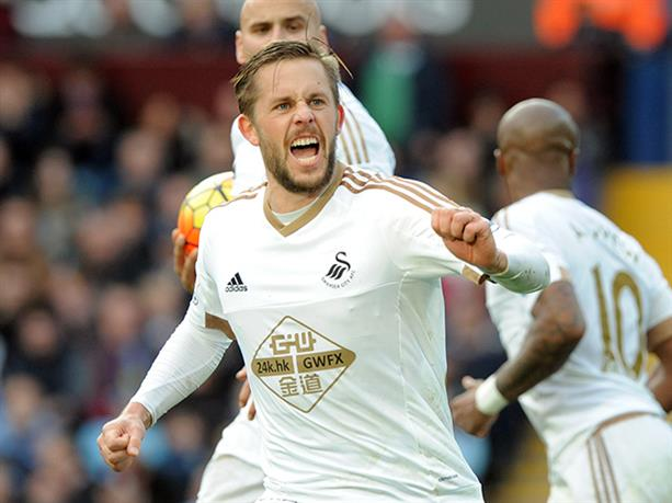 Sigurdsson é destaque do clube (Foto: SwanseaCity.net)