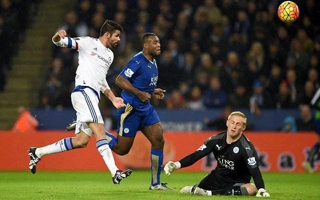 O Leicester venceu o último jogo contra os Blues (Foto: Chelsea FC)