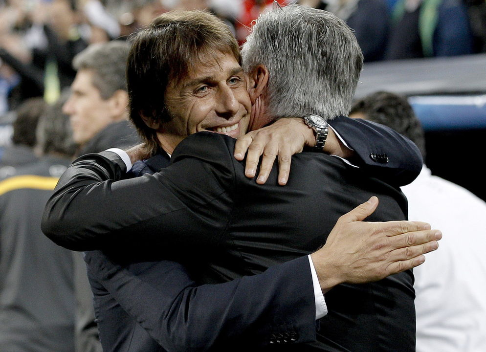 Conte chega ao Chelsea em contexto semelhante ao da chegada de Ancelotti (Foto: Getty Images)