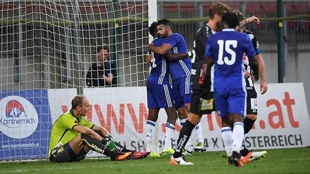 Chelsea venceu sua primeira partida sob comando de Conte (Foto: Chelsea FC)