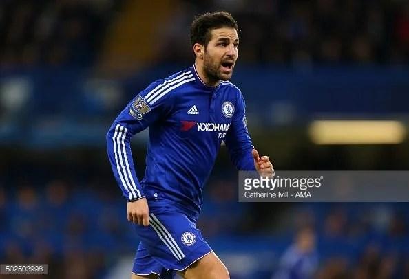 Fàbregas apareceu em 37 jogos com a camisa do Chelsea na última temporada (Foto: Getty).