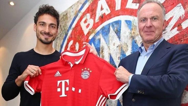 Hummels foi mais barato ao Bayern que David ao Chelsea (Foto: fcbayern.com)