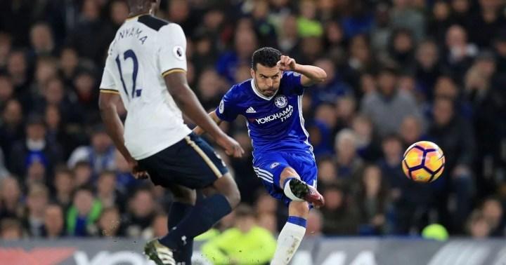 O ponta espanhol está em ótima fase nos Blues e anotou um golaço contra o Tottenham. (Foto: Mirror)
